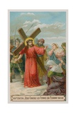 Jesus Consoles the Women Who are Weeping for Him. the Eighth Station of the Cross Giclee Print