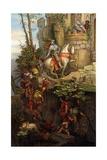 The Ride of Kuno Von Falkenstein Giclee Print by Moritz Ludwig von Schwind