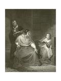 Joan of Arc Giclee Print by Hippolyte Delaroche