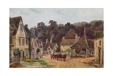 Castle Combe, Wiltshire Giclee Print by Alfred Robert Quinton
