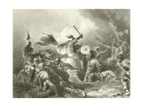 The Battle of Hastings Giclee Print by Philip James De Loutherbourg