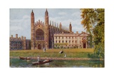 Kings College Chapel, Cambridge Giclee Print by Alfred Robert Quinton