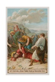 Jesus Falls for the Third Time. the Ninth Station of the Cross Giclee Print