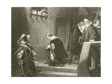 The Earl of Strafford Going to Execution Giclee Print by Hippolyte Delaroche