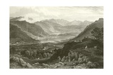 Rydal Water and Grassmere, from Rydal Park, Westmorland Giclee Print by George Pickering