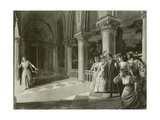 Lucia Di Lammermoor, Act III Scene VI Giclee Print by William De Leftwich Dodge