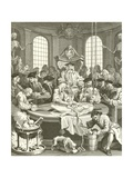 The Four Stages of Cruelty Giclee Print by William Hogarth