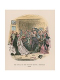 Illustration for Martin Chuzzlewit Giclee Print by Hablot Knight Browne