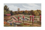Kingsnorth Gardens, Folkestone Giclee Print by Alfred Robert Quinton