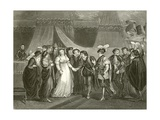 Catherine of France Presented to Henry V of England Giclee Print by Thomas Stothard