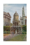 Gate of Honour, Caius College, Cambridge Giclee Print by Alfred Robert Quinton