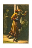 Judas Iscariot Giclee Print by Owen Dalziel