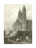 The Cathedral at Worms Giclee Print by Samuel Prout