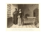 Sir Thomas More and His Daughter Margaret Giclee Print
