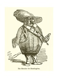 The Member for Huntingdon Giclee Print by John Leech