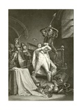 Death of Richard II Giclee Print by Francis Wheatley