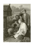 A Shrine in Russia Giclee Print by Adolphe Yvon
