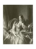 Madame De La Motte Giclee Print by Abraham Solomon