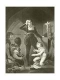 Prince Arthur and Hubert Giclee Print by James Northcote