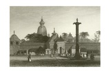 Temple of Juggernaut Giclee Print by Alfred Gomersal Vickers