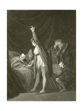The Death of Cardinal Beaufort Giclee Print by Henry Fuseli