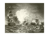 The Battle of the Nile Giclee Print by Philip James De Loutherbourg