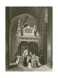 Tomb of Queen Elizabeth Giclee Print by Thomas Hosmer Shepherd