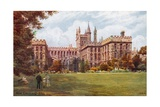 New College, Oxford Giclee Print by Alfred Robert Quinton