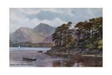 Friars' Crag, Derwent Water Giclee Print by Alfred Robert Quinton