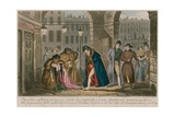 One of Those Afflicting Occurrences in Life in London Giclee Print by Isaac Robert Cruikshank