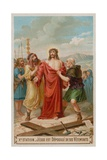 Jesus Is Stripped of His Garments. the Tenth Station of the Cross Giclee Print