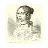 Henrietta of England, Sister of King Charles II Giclee Print by Etienne Antoine Eugene Ronjat