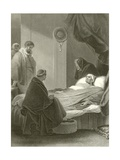 The Death of Cardinal Wolsey Giclee Print by Robert Smirke