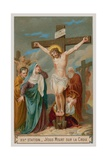 Jesus Dies on the Cross. the Twelth Station of the Cross Giclee Print
