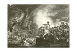 The Siege of Gibraltar Giclee Print by John Singleton Copley