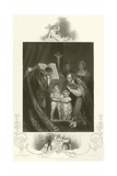 The Marriage of Richard Duke of York Giclee Print by James Northcote