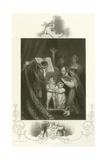 The Marriage of Richard Duke of York Giclee Print by James Northcote