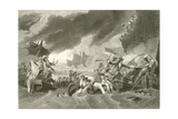 The Battle of La Hogue Giclee Print by Benjamin West