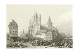 Mayence Cathedral, Rhine Giclee Print by William Leighton Leitch