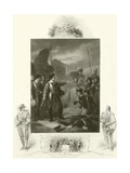 Cromwell Suppressing the Mutiny in the Army Giclee Print by Robert Smirke