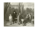 The Fight Interrupted Giclee Print by William Mulready