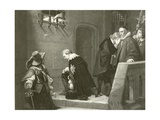 Lord Strafford Giclee Print by Hippolyte Delaroche