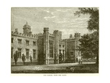 The School from the Close Giclee Print