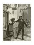 Cavalleria Rusticana, Scene Xi Giclee Print by William De Leftwich Dodge