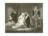 Execution of Lady Jane Grey Giclee Print by Hippolyte Delaroche