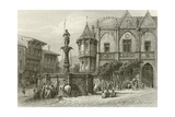 The Rathhaus, Hildesheim Giclee Print by Carl Friedrich Heinrich Werner