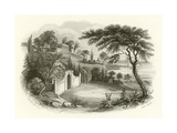 Residence and Tomb of Washington, Mount Vernon, on the Potomac Giclee Print by William Henry Brooke