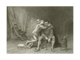 Prince Albert and Hubert Giclee Print by Laslett John Pott