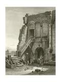Virgil's House, Brindisi Giclee Print by Carl Friedrich Heinrich Werner