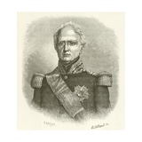 Marshal Thomas Bugeaud Giclee Print by Etienne Antoine Eugene Ronjat